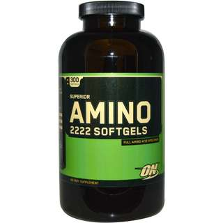 ON AMINO 2222 300 SOFTGELS - COD FREE SHIPPING
