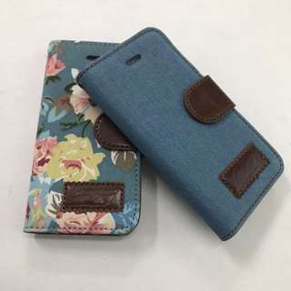 Cloth Material Flip Case for iPhone 5C