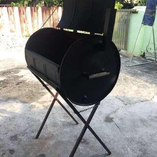 Custom Made Bbq Oil Drum