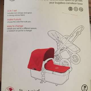 Bugaboo cameleon 2in 1 tailored fabric set RRP $169