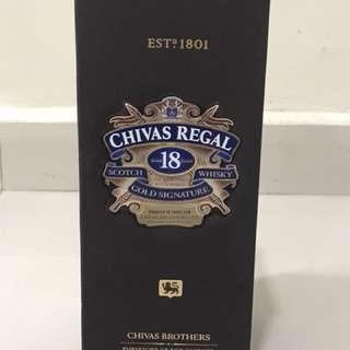 Chivas Regal 18 Gold Signature