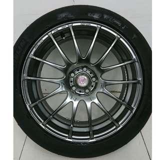 17 '' Sport Rim With Tyre 5x100 (SR855)