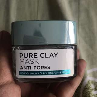pure clay mask anti-pores Loreal