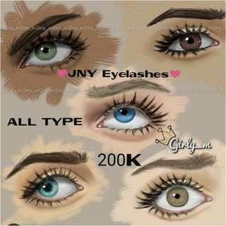 Eyelshes extention