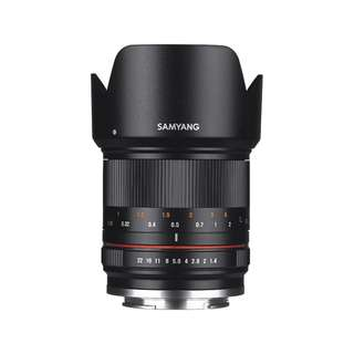 Samyang 21mm f/1.4 Lens (Fujifilm X, Canon EOS M, Sony E, Olympus and Panasonic Micro Four Third Mount) *NEW*