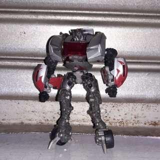 Transformer revenge of the fallen deluxe class sideswipe incomplete