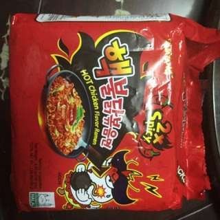 Samyang Spicy Fire Noodles x2
