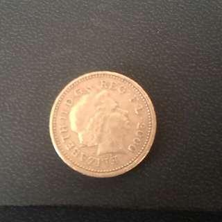 £1 coin (2000)