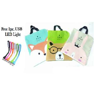 Documents Stationery File Folder Storage Pouch Holder Zipper Bag School Office