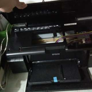 T60 printer with ciss pigment ink