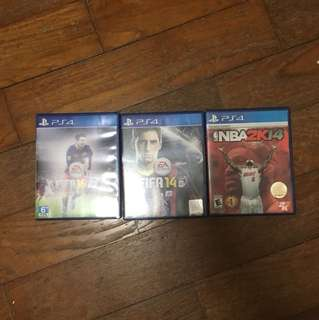 Used ps4 games sale !