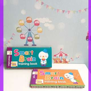 Smart Brain Training Book age 3