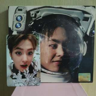 [WTT] EXO Sing For You Xiumin Chinese version Album with Photocard to Lay Sing For You Chinese version with photocard