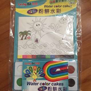 Water colour package from Lucky Art Taiwan