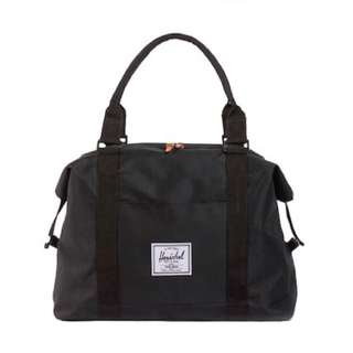 Herschel Strand Duffle Bag in Black