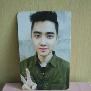 [WTT] EXO LOTTO D.O photocard to Lay photocard (Korean Version)