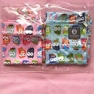 Brand New!2-In-1 Wet bag Cute Owl design
