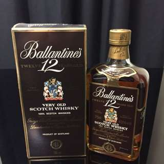 Ballantine's 12YO Very Old Scotch Whisky