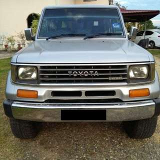 Toyota Land Cruiser Mark ii