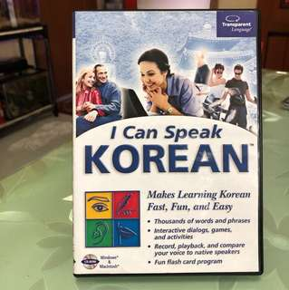 Learn Korean CD