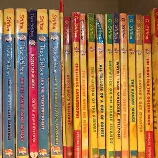 G. Stilton storybooks (whole set 18 books)