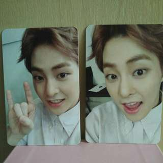 [WTT] EXO EX'ACT CHINESE VER (MONSTER/LUCKY ONE) XIUMIN Photocard to Lay photocard