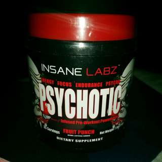 Insane LABZ pre work out supplement
