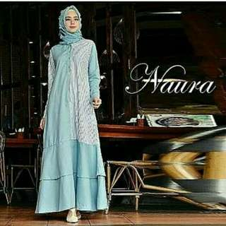 NAURA DRESS BAHAN BALOTELY MIX KATUN FIT L