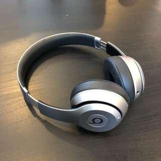 Beats Solo2 Wireless solo 2 grey gray