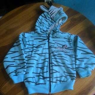 Jaket karakter zebra