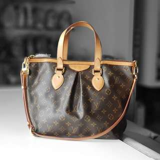 Authentic Louis Vuitton Monogram Palermo Pm LV