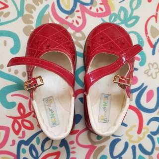KLIN BABY RED SHOES