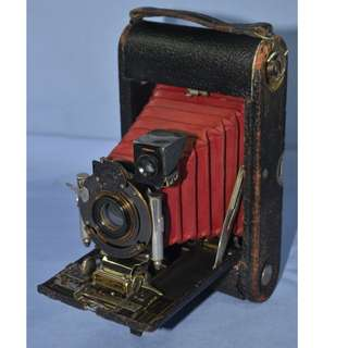 ANTIQUE KODAK USA NO.3 FOLDING POCKET CAMERA CIRCA 1900/10S