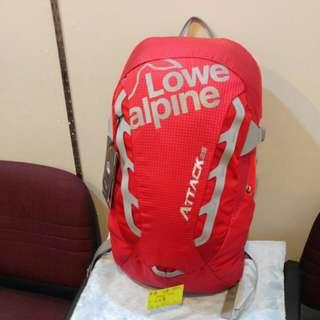 英國 Lowe alpine 25L 背包 紅/藍/黑