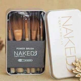 Naked 12 pcs brush set