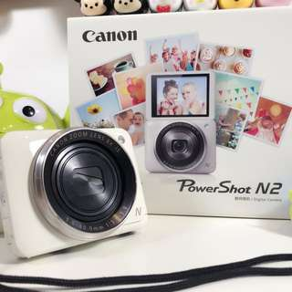 Canon Powershot N2 Free extra battery