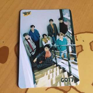 Got7 ues card