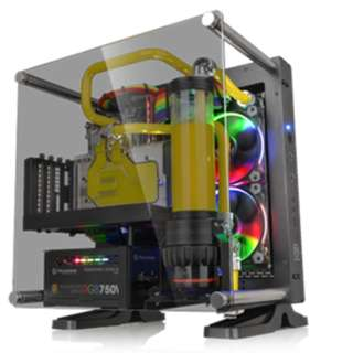 Casing Core P1 TG/Black/Wall Mount/SGCC/Tempered Glass
