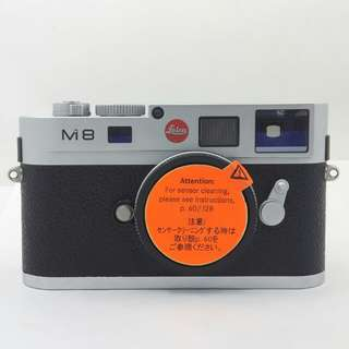 Leica M8.2 Chrome