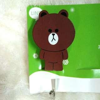 🚚 迪士尼 卡通掛鉤 3M背膠掛鉤 Line熊
