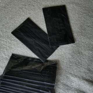 型人黑色口罩