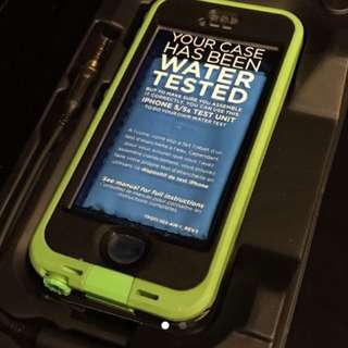 NUUD Lime Green Underwater Case