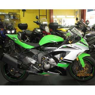 Kawasaki zxr636r 2015  D/P $1500 or $500 With Out Insurance  (Terms and conditions apply. Pls call 67468582 De Xing Motor Pte Ltd Blk 3006 Ubi Road 1 #01-356 S 408700.