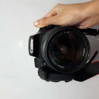 Dslr Canon EOS 1100D + BOX + TRIPOD