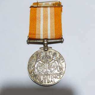 The defence medal 1939-1945