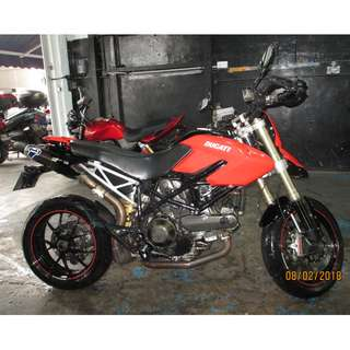 Ducati Hypermotard 1100 With  10 Years coe 2027 D/P $1500 or $500 With Out Insurance  (Terms and conditions apply. Pls call 67468582 De Xing Motor Pte Ltd Blk 3006 Ubi Road 1 #01-356 S 408700.