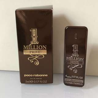 Paco Rabanne 1 Million Prive eau de parfum 5 ml. Mini
