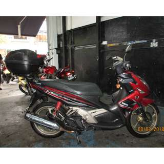 Yamaha Nouvo 135 2012 D/P $500 or $0 With out insurance (Terms and conditions apply. Pls call 67468582 De Xing Motor Pte Ltd Blk 3006 Ubi Road 1 #01-356 S 408700.