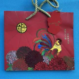 Credit Suisse Chinese New Year Paper Bag - Year of the Rooster