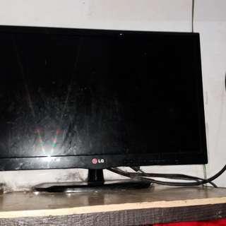 TV LED LG 22INCH MURAAAAH